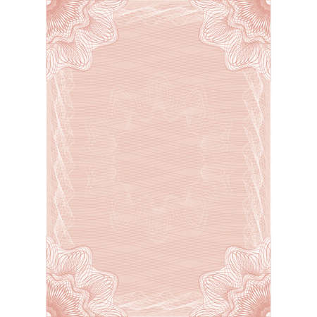 rosetta: Pattern of pink color for congratulations. Vector Illustrator.