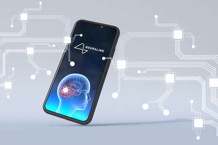 Neuralink application on a smart phone can work together with our brain can be a new way of reality we create.