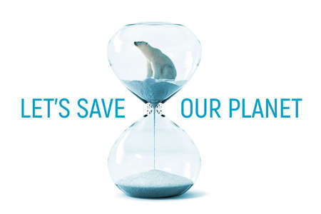 Let's save our planet Earth from global climate change and warming. This design can be used as wallpaper or printed on t-shirts or posters to rise awareness about climate change.