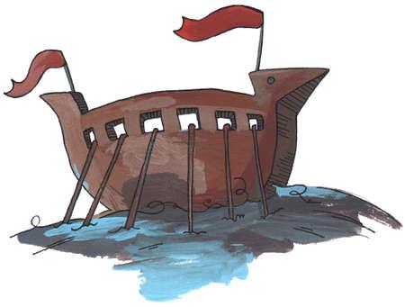 drakkar: Drakkar Illustration