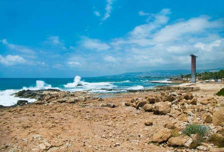 george: waves crashing coastal rocks at St George Beach