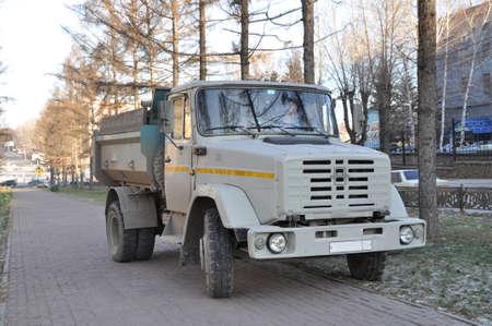 truck big machine Stock Photo - 25940118