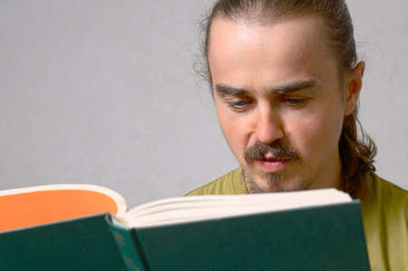 bookish: Young man reading