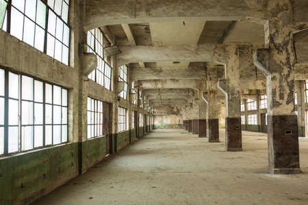 antique factory: Abandoned factory