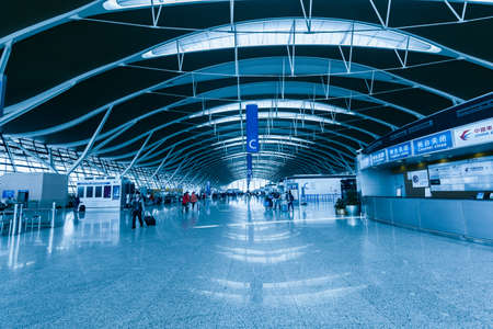 intent: Shanghai Airport