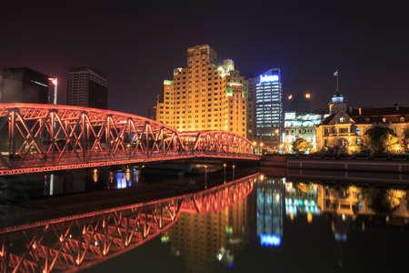 publicidad exterior: Shanghai puente del jard�n