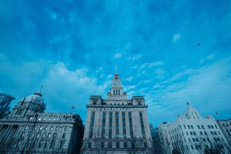 publicidad exterior: Edificio de Shanghai Editorial