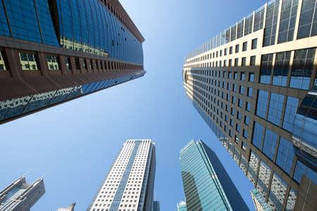 publicidad exterior: ciudad de gran altura