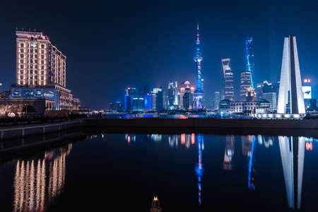 shanghai night: Shanghai night scenes