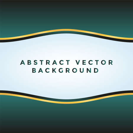 Abstract dark green vector background for use in design