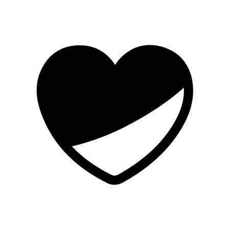 Heart icon. Love symbol modern, simple, vector, icon for website design, mobile app, ui. Vector Illustration