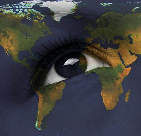 earth eye photo