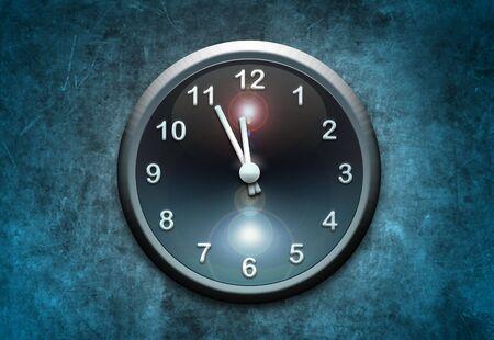 clock on wall Stock Photo - 6914906