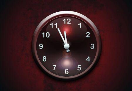 clock on wall Stock Photo - 6915022