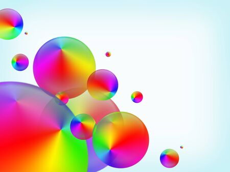 glob: abstract colored background Stock Photo