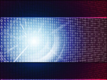 abstract binary background Stock Photo - 7507077