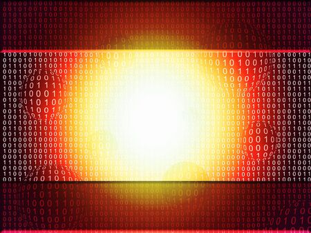 abstract binary background Stock Photo - 7507079