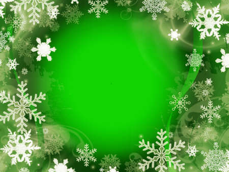 abstract green christmas background photo