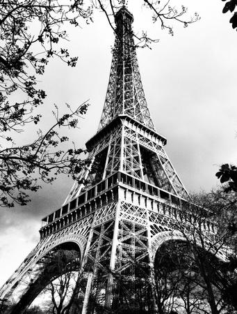 Wieża Eiffla w Paryżu Zdjęcie Seryjne