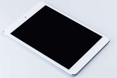 Picture of white tablet pc photo
