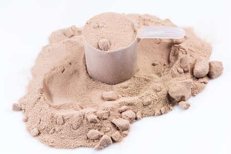 ホエー蛋白質粉末とスクープ