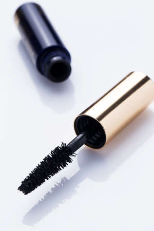 Close up of mascara brush  photo
