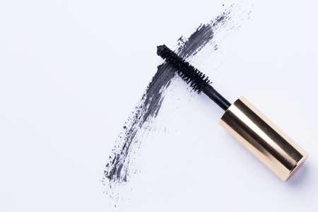 Close up of mascara brush Stock Photo - 24452697
