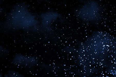 Beatiful night sky with stars