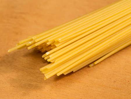 Uncooked spaghetti photo