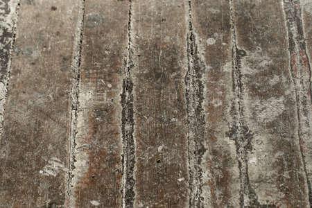 white chapped floor photo