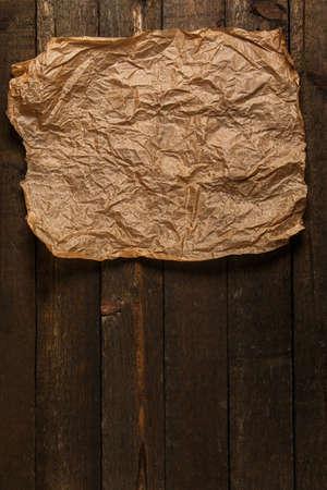 feuille froiss�e: Feuille Ancien et de papier froiss�