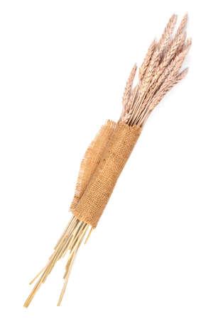 sackcloth: Sackcloth and wheat ears