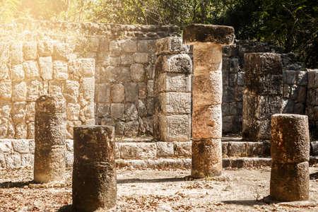 itza: Ancient ruins at Chichen Itza in the Yucatan, Mexico