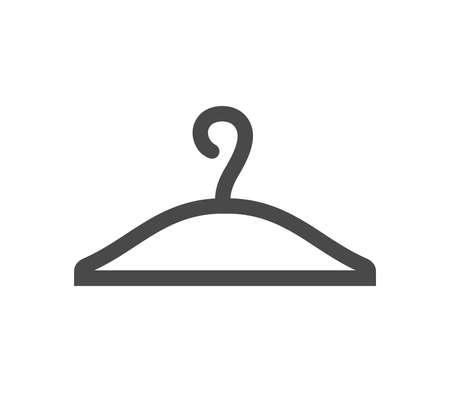 Cloth hanger icon. Hanger icon.