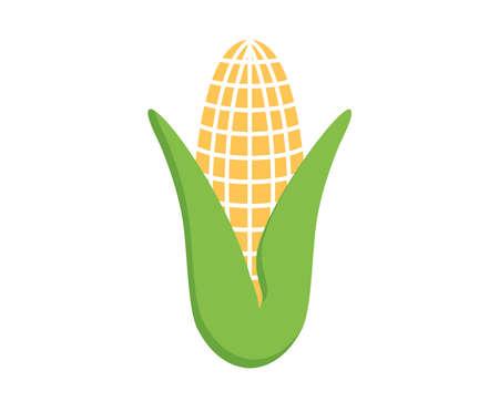 Corn icon. Vector corn vector illustration.