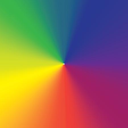 regenboog Conische Gradient 01