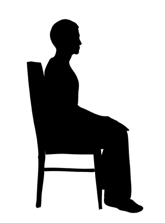 meditation man: Sitting Man 02