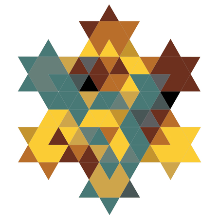 simchat torah: Magen David Fractal 05