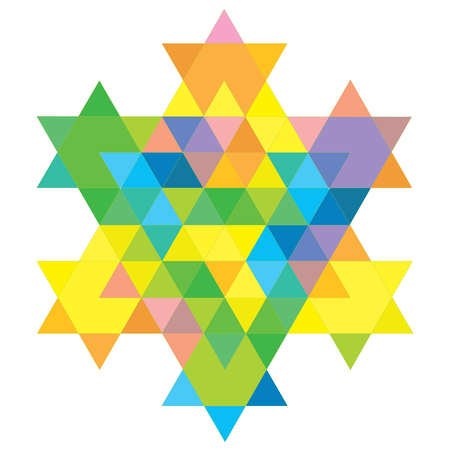 simchat torah: Magen David Fractal 09