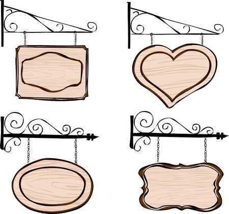 hangingsigns Illustration