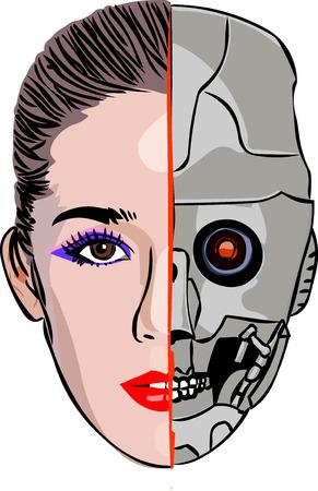 cyborg: Cyborg chica
