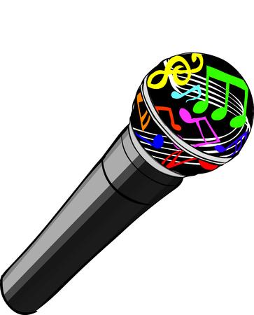 Magic Microphone Illustration