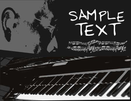Piano  Stock Vector - 4467384