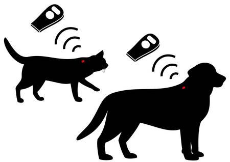 pets microchip Vector