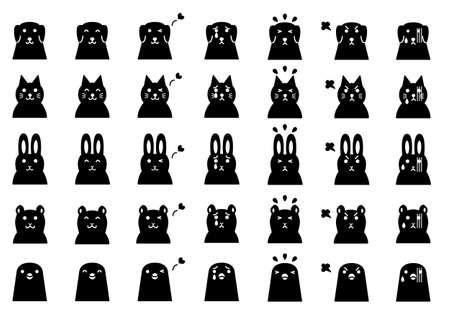 pets faces