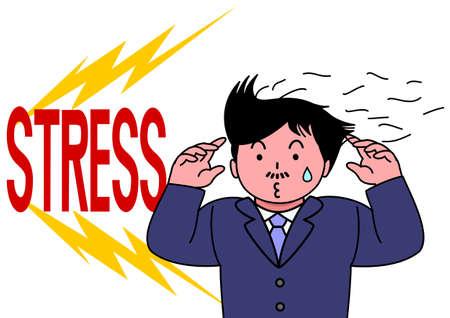 baldness: perder el pelo por el estrés