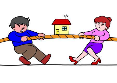 不動産のための綱引き