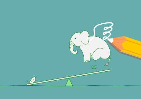 プラス象への翼