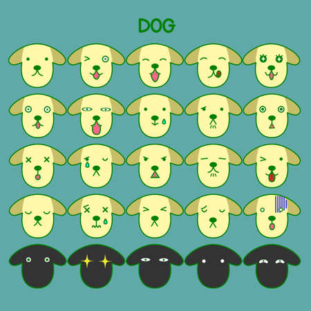 incomprehensible: Dog emotions set