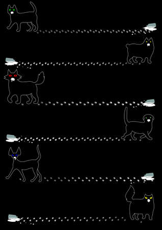the whole body: Cats stole the milk